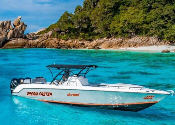 Dream Faster Speed Boat Charter Donzi 38 ZFX