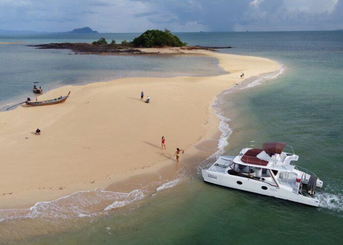 Catamaran boat yacht
